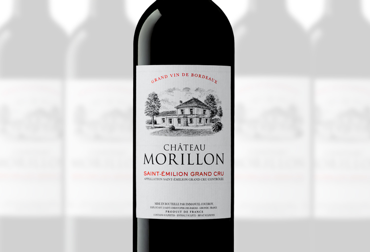 Chateau Morillon, Saint-Emilion Grand Cru, Exclusivité Ets. Jean-Pierre Moueix